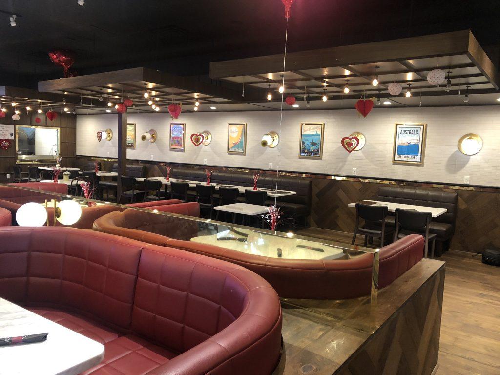 The Golden Pod Orlando restaurant