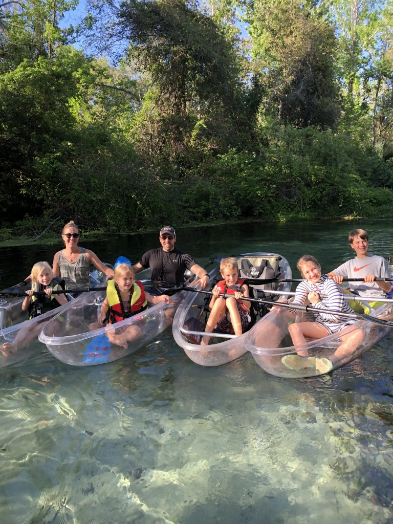 Clear Kayaks Florida