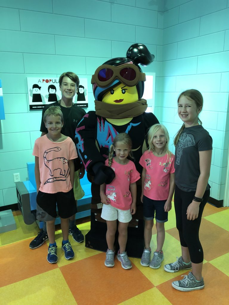 The Lego Movie World at Legoland Florida