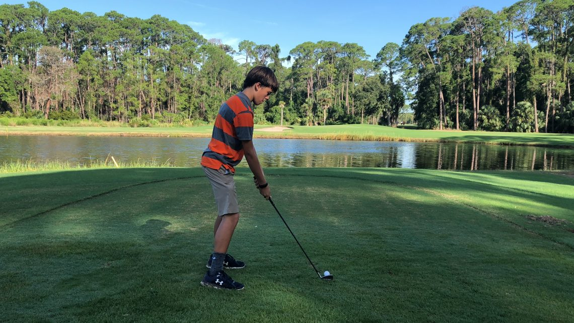PGA Junior Golf summer camp