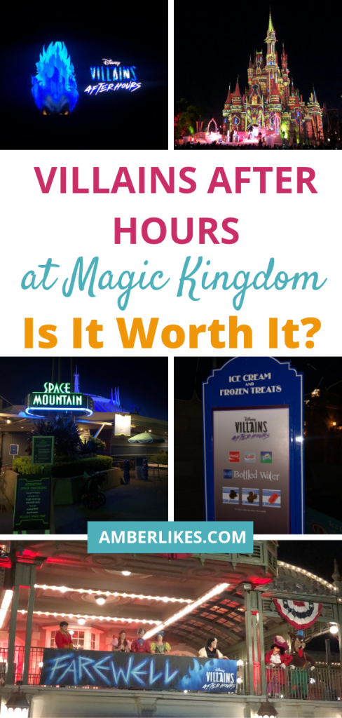 Is Disney's Villains After Hours worth the ticket price? With free Mickey ice cream bars, popcorn, soda, and low wait times, my vote is yes!