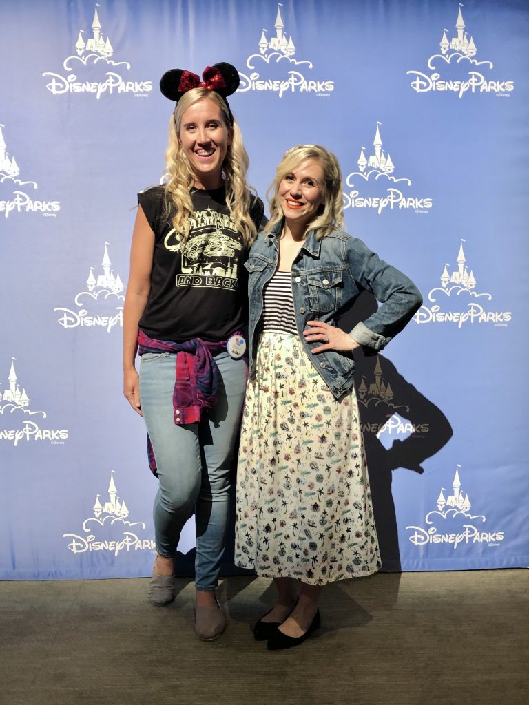 Ashley Eckstein and me