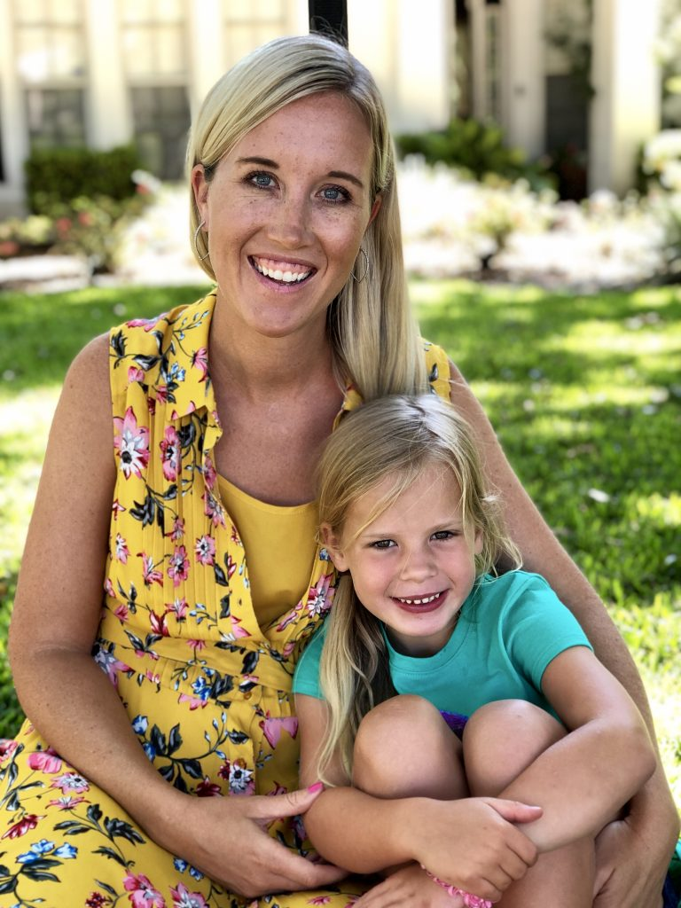 Orlando lifestyle blogger, Amber likes shares What Her 5 Year Old Taught Her about body image! How did having daughters change her own body image?