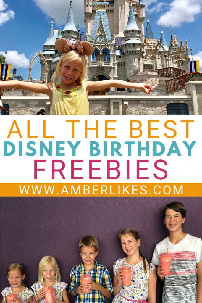 Find all the Disney birthday freebies in one complete guide!