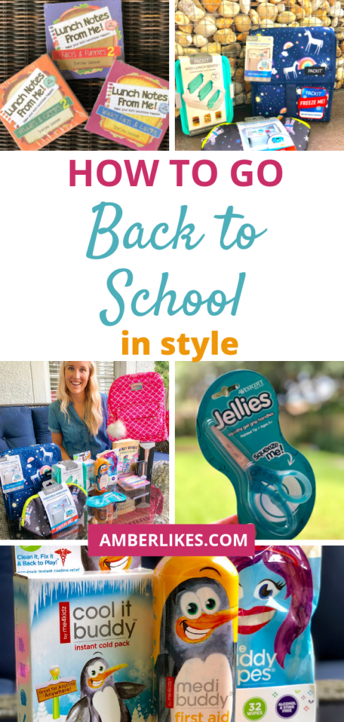 How to go back to school in style with these essentials! Orland lifestyle blogger, Amber Likes shares back to school essentials.