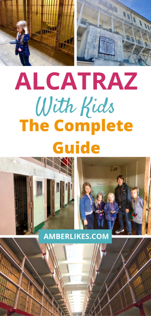 Is Alcatraz with kids a good idea? How much walking is there? Is there food? Is it scary? Will kids be bored? All your questions answered by Orlando travel blogger!