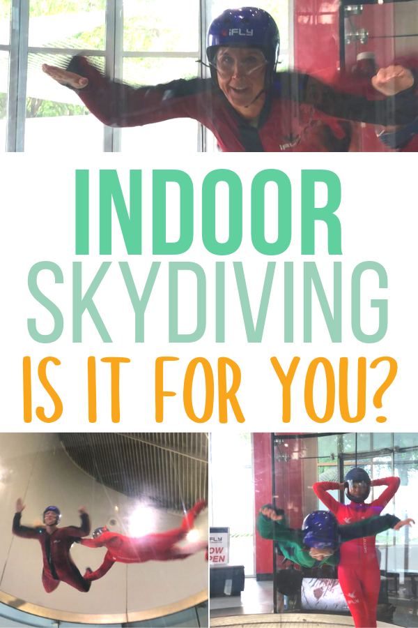 Is indoor skydiving for you?