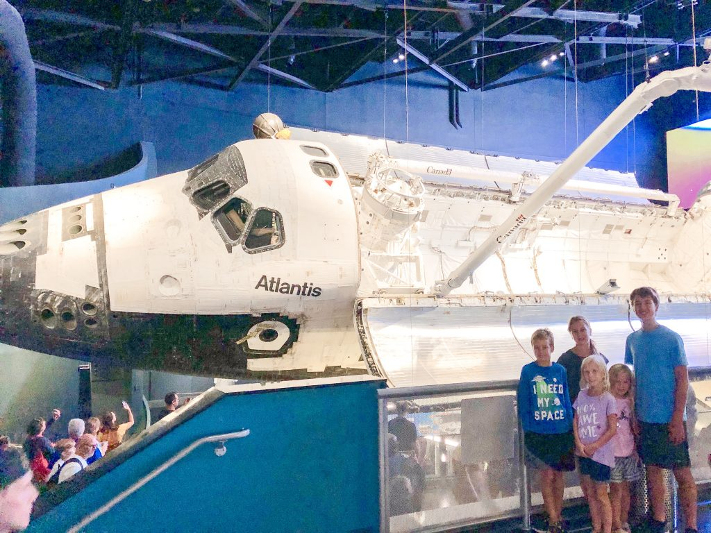 homeschool travel NASA | Orlando travel blogger