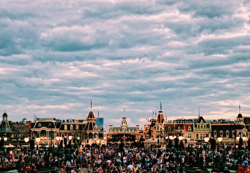 Disney World at dusk | Disney World Basics