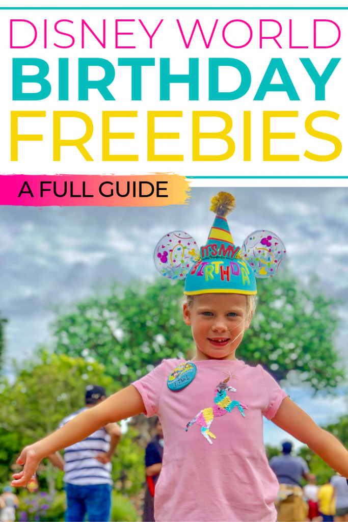 There are lots of birthday freebies available at Disney World! What can you get for free on your birthday at Walt Disney World? Find out from Orlando blogger, Amber Likes!