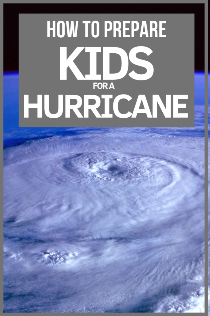 How to prepare your kids for a hurricane. Read the 5 must do's from a Mom who's lived it.