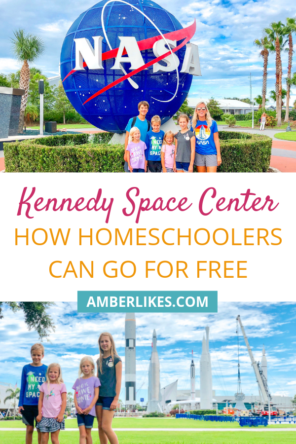 How can homeschoolers go to Kennedy Space Center for free? Find out here!