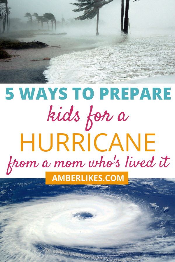 How do you prepare kids for a hurricane? This can be a scary situation for children. Read these 5 must do's from Orlando lifestyle blogger, Amber Likes!