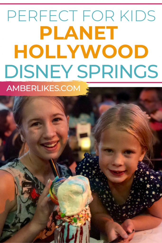 Is Planet Hollywood good for families?