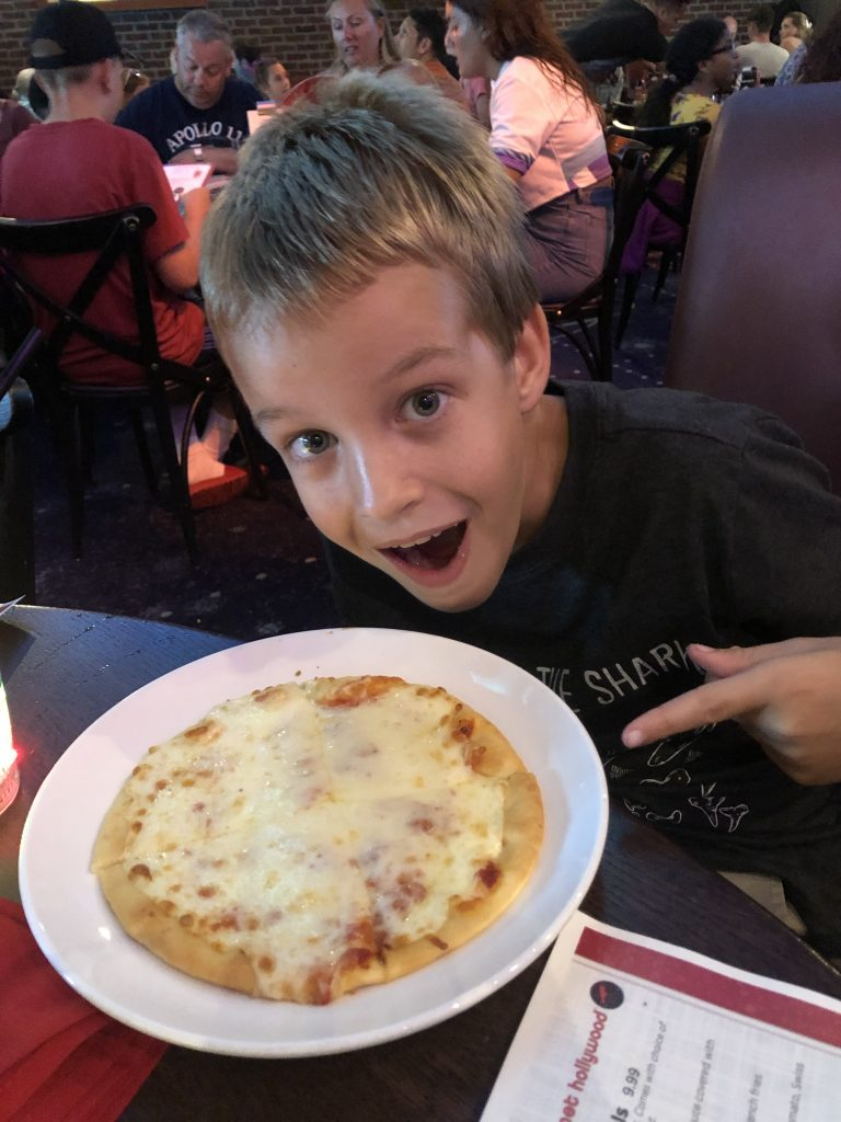 planet hollywood kids meals