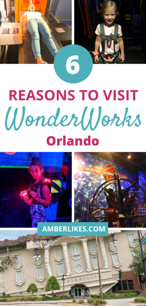 Heading to Orlando? Check out these 6 reasons to visit WonderWorks during your trip from Orlando travel blogger, Amber Likes!