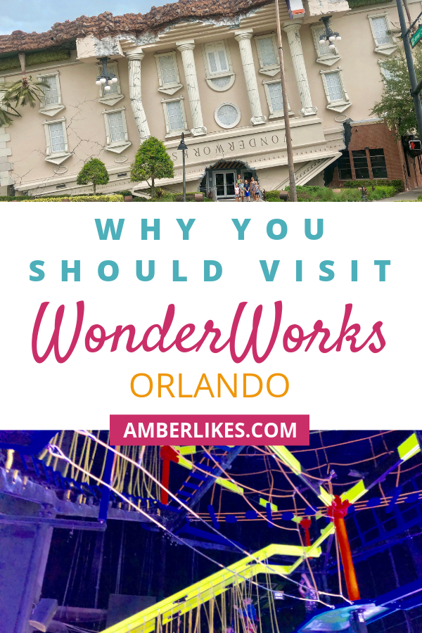 Heading to Orlando? Check out these 6 reasons to visit WonderWorks during your trip from Orlando travel blogger, Amber Likes! | Things To Do In Orlando