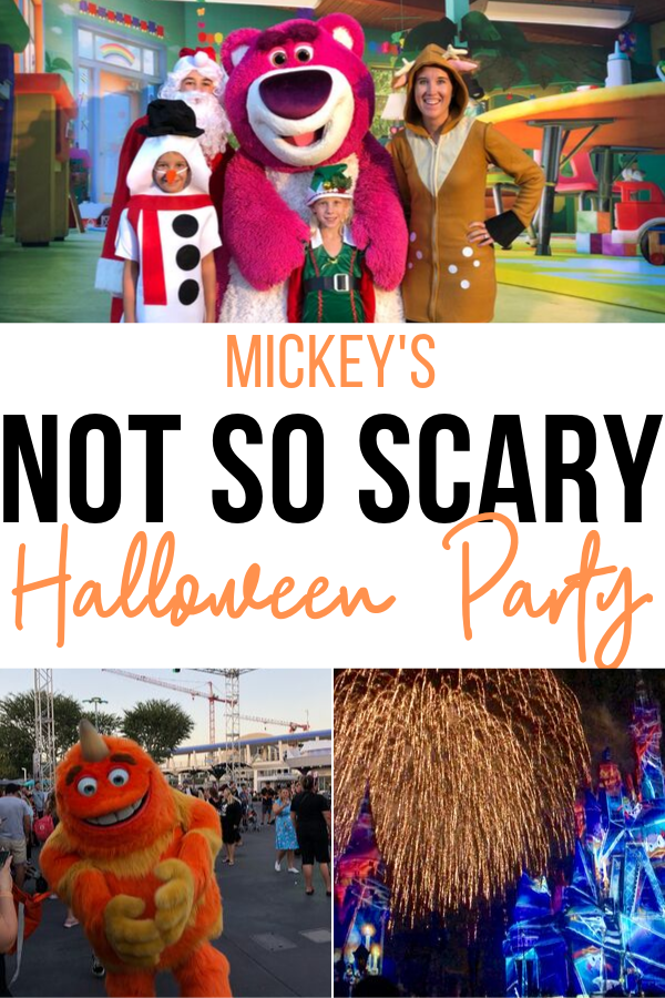 Are you heading to Disney around Halloween? Check out as Orlando travel blogger, Amber Likes shares a look at Disney's Not So Scary Halloween party!