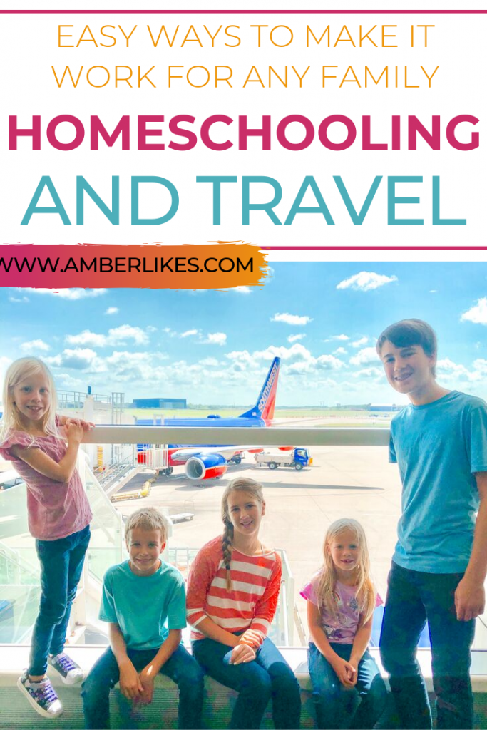 Struggling with how to make homeschooling and traveling work? Check out the best tips from Orlando motherhood blogger, Amber Likes!