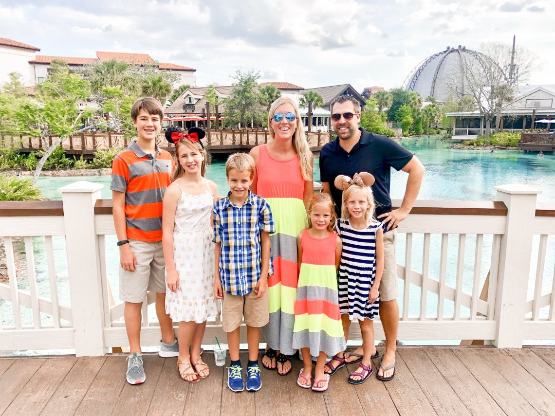 Disney Springs family