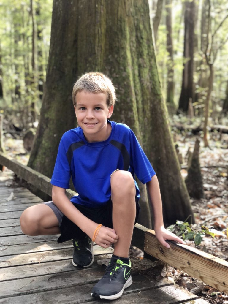 congaree national park with kids