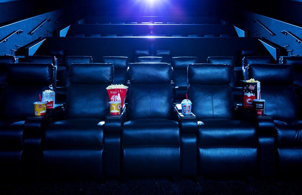 Universal cinemark recliners