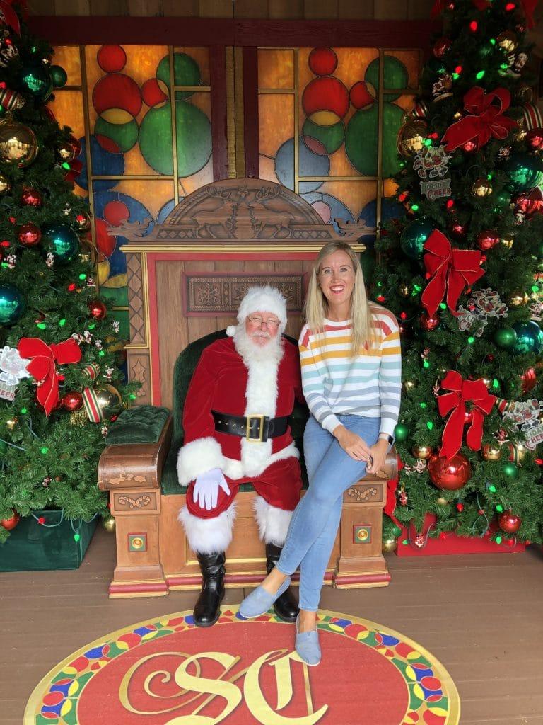 Disney Springs Santa