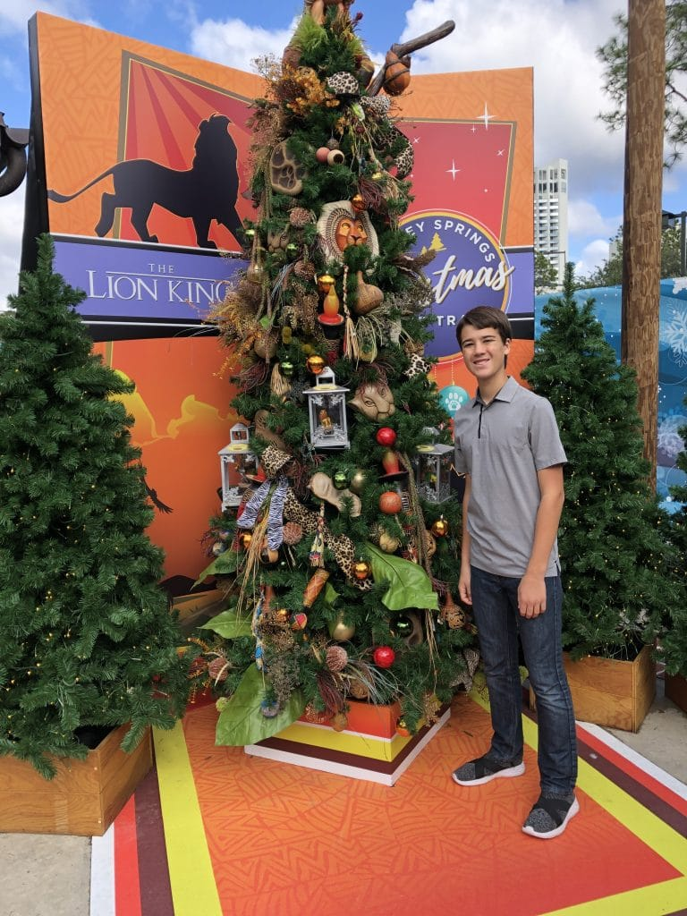 Disney Springs Christmas Tree Trail