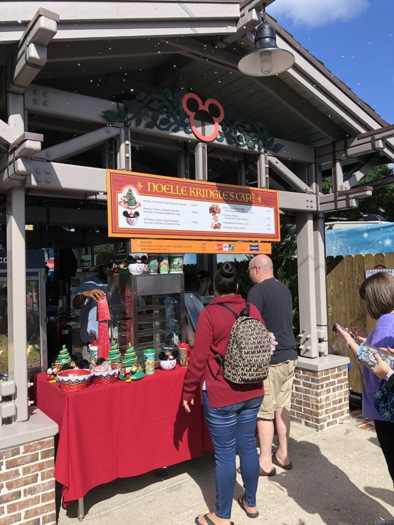 Disney Springs snacks