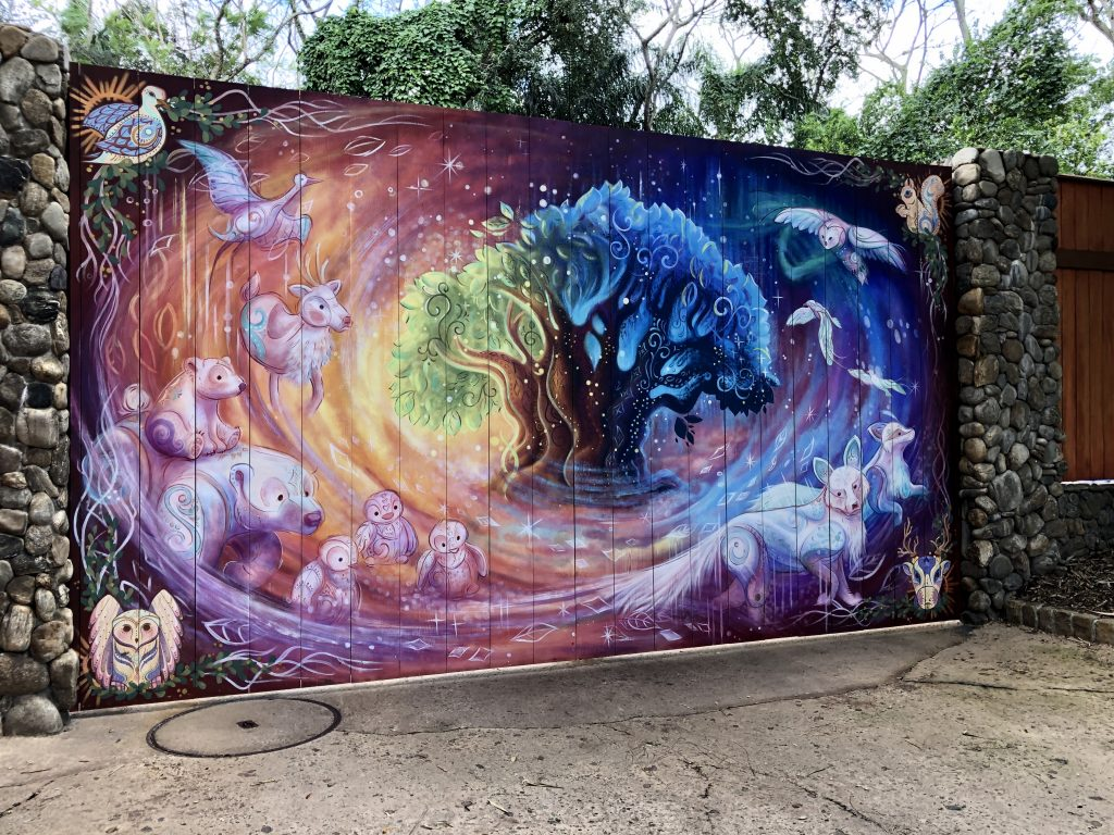 Animal Kingdom new mural
