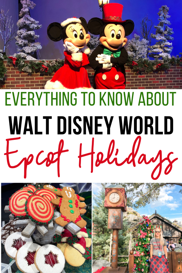 epcot holiday guide