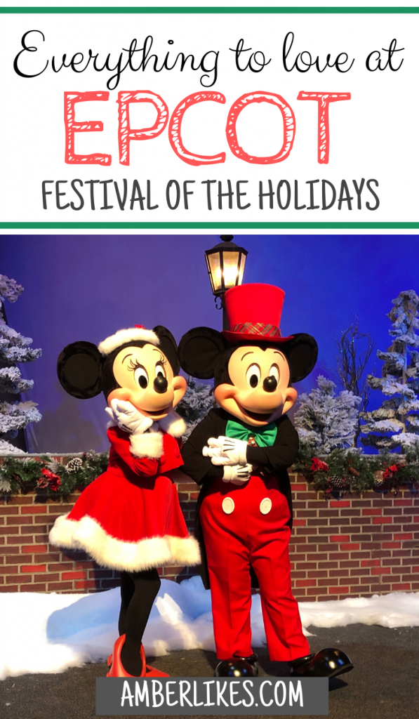 Disney Christmas epcot holidays