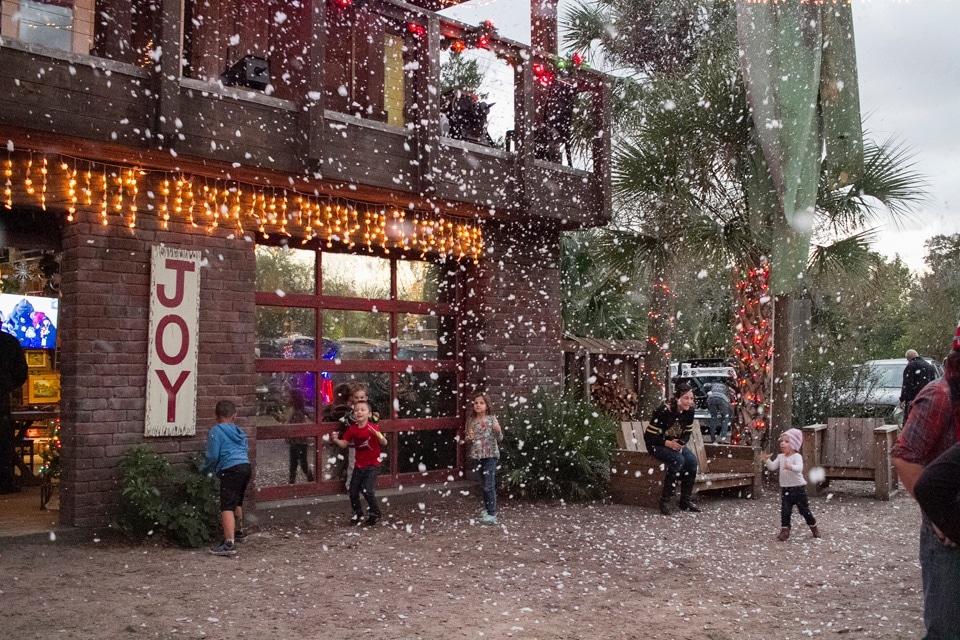 Central Florida snow