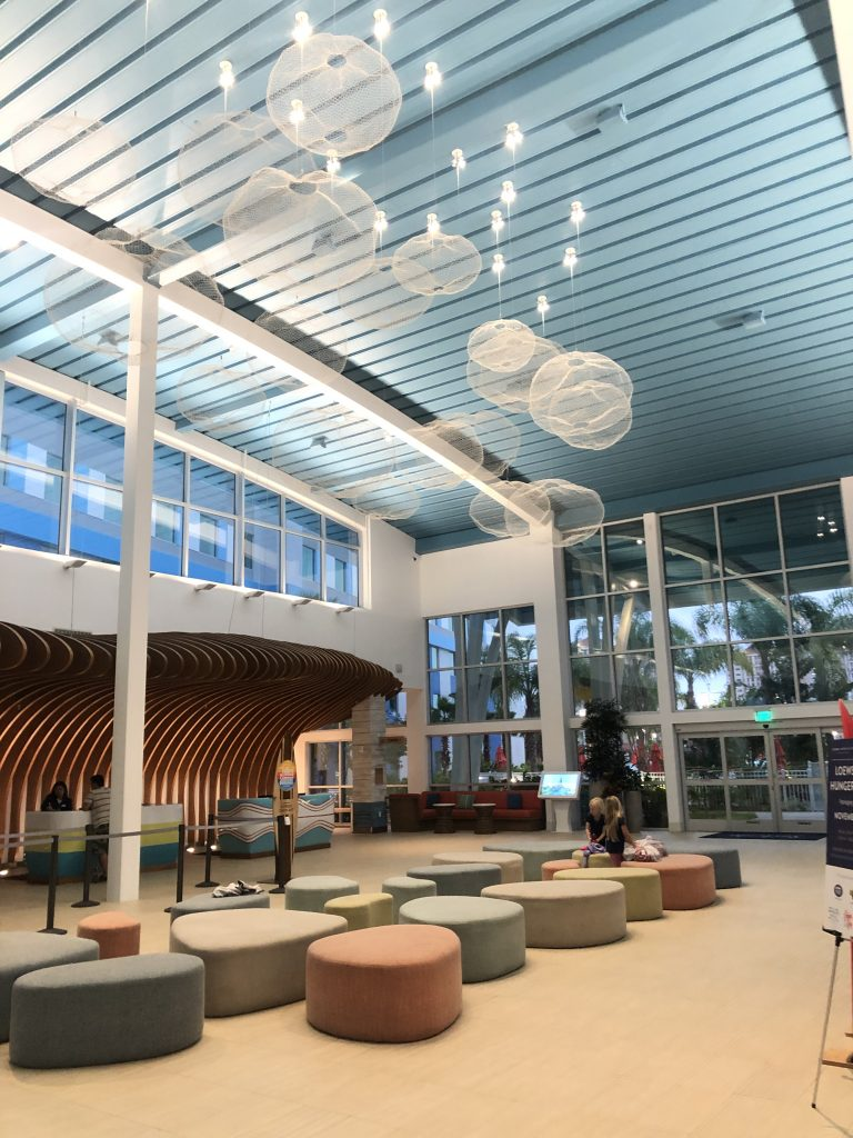Universal's Endless Summer Resort lobby