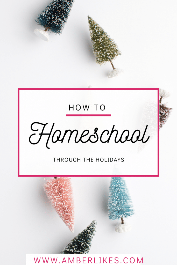 The holidays call for a lot of travel time so be sure to read our tips and tricks for homeschooling while celebrating the holidays