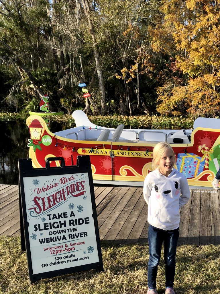 Wekiva Island Winter Wonderland