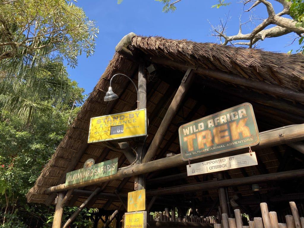 Wild Africa Trek entrance