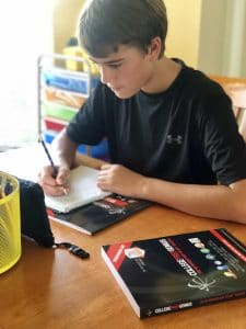 homeschool curriculum test prep