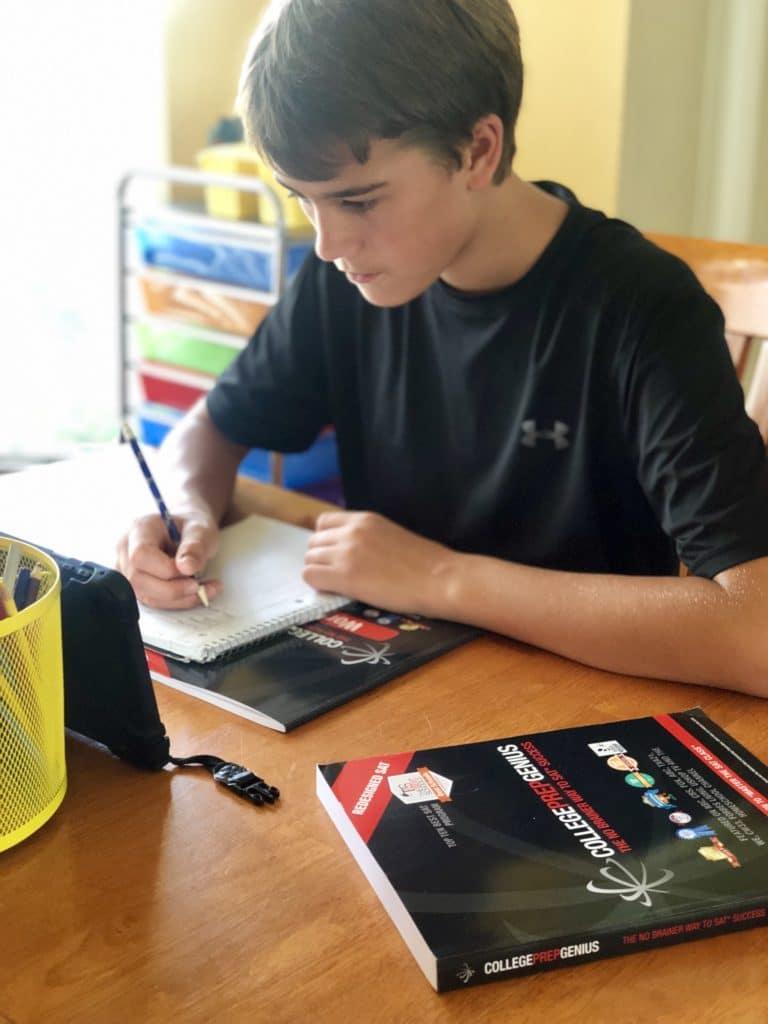 summer homeschool test prep