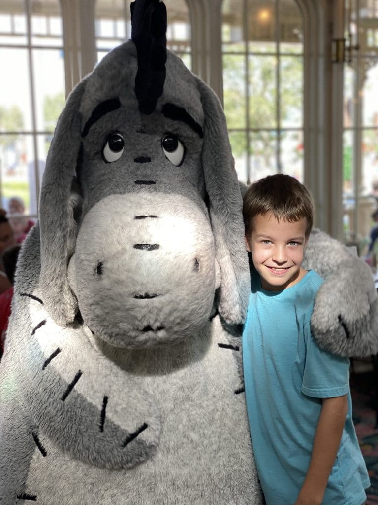 eeyore at crystal palace