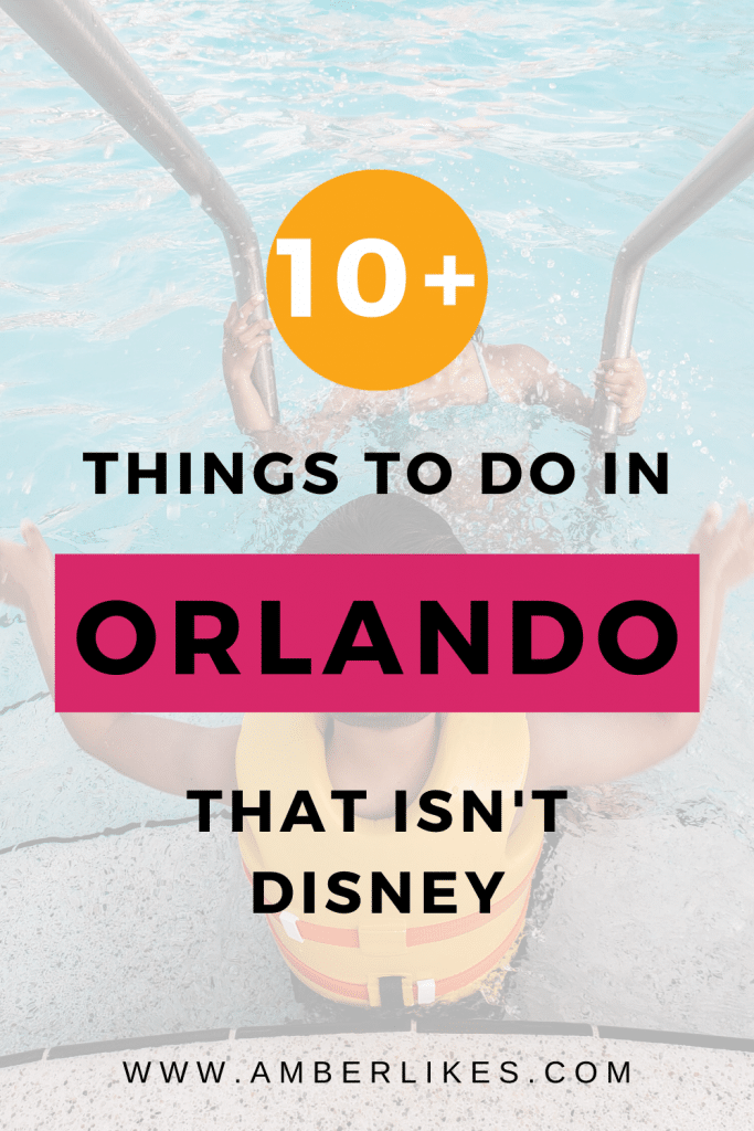 While Disney is great we have 10 plus ideas on other things to do with your kid in Orlando, whether you're visiting or moving to the area. #Orlando #TravelGuide