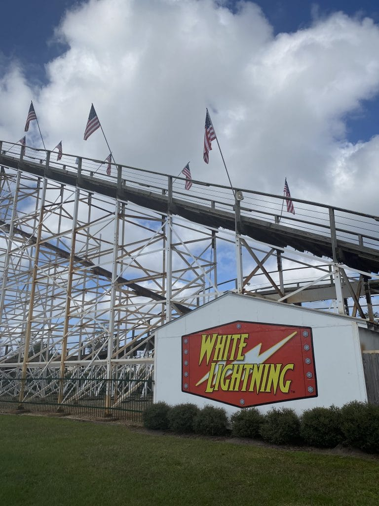 fun spot roller coaster