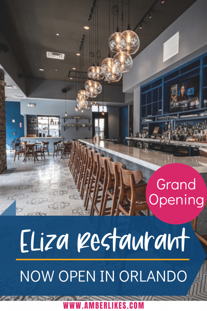 New restaurant Elize opens on Church Street in Orlando. Find out all the details on this new Orlando hotspot. #orlando #elize #orlandofood