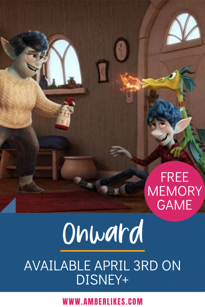 Disney and Pixar's ONWARD is available now to own on digital! Find fun activity sheets, clips, and more! #pixaronward #disneyathome