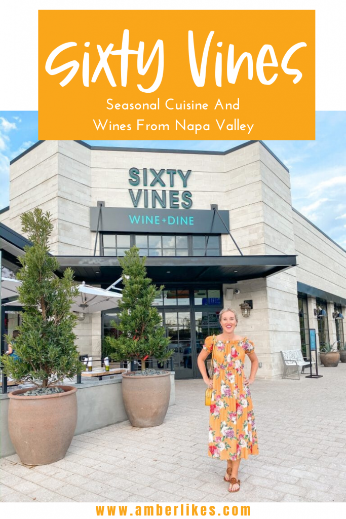 Sixty Vines Orlando in Winter Park is the latest amazing restaurant to join Orlando's food scene. Find all the details! #sixtyvines #orlando #orlandofood