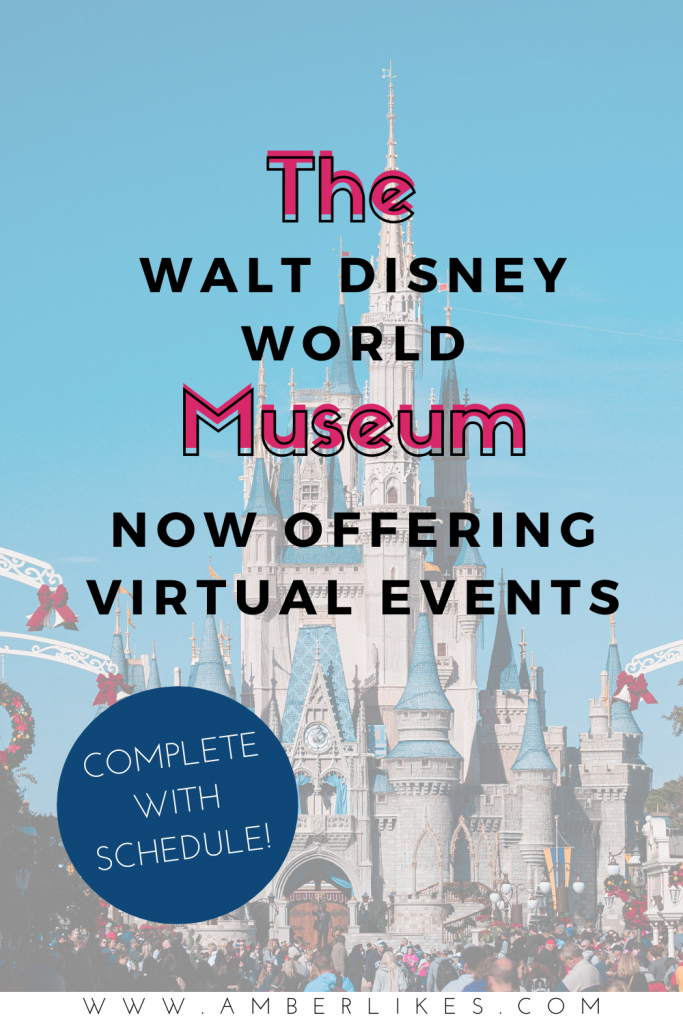 The Walt Disney Family Museum is offering virtual classes and Happily Ever After Hours! Find all of the details! #waltdisney #wdw