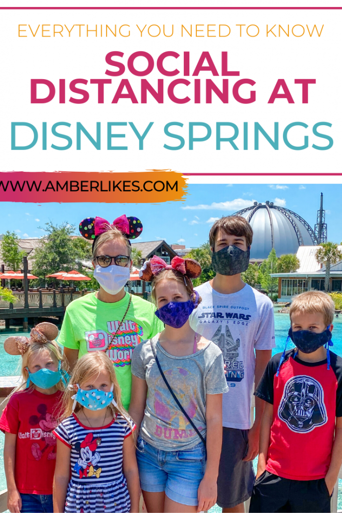 social distancing at disney springs