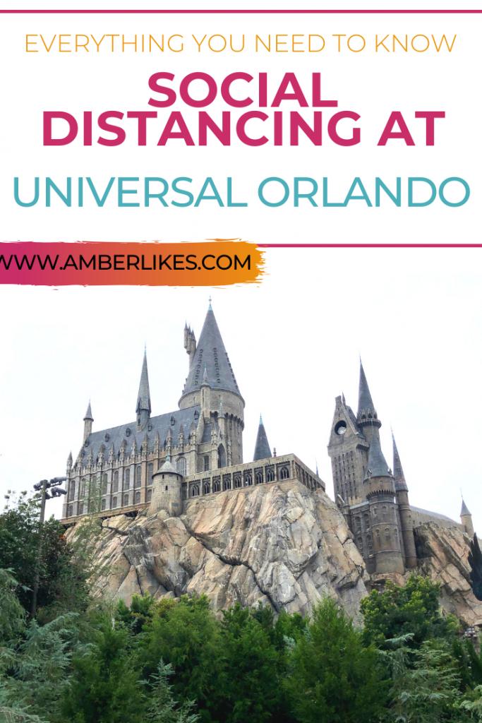 social distancing at Universal Orlando