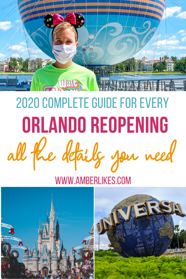 Orlando reopening guide