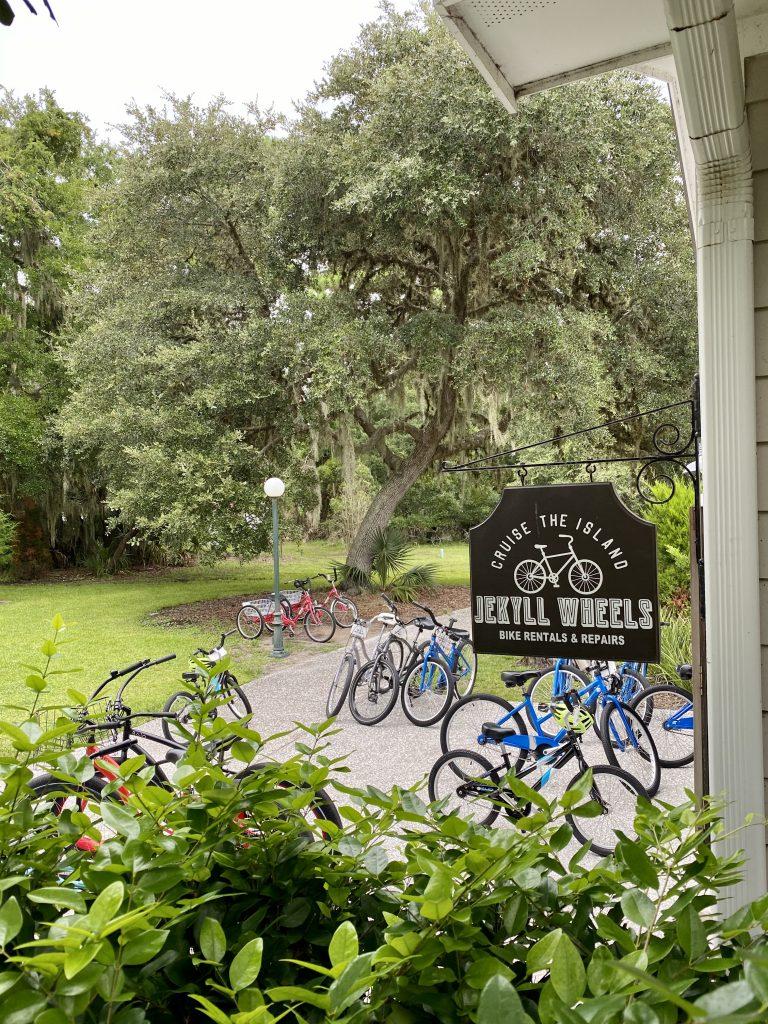Jekyll Wheels bike rental
